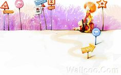 Kim Jong Bok Illustrations(Vol.03) - Cartoon Cute Fairy Girl  - Art Illustration : Cute Little Cartoon Girl  23