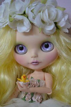 Ooak Custom Factory Blythe Doll Penny by BlytheByBridie on Etsy