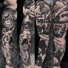 MOB Tattoo 13 Weird Tattoos, Life Tattoos, New Tattoos, Tattoos For Guys, Cool Tattoos, Mob Tattoo, Tattoo Mafia, Tatuajes Tattoos, Chicano Tattoos