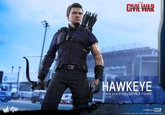 Hawkeye Civil War Hot Toys Collectible Figure Coming Soon