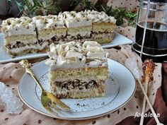 Ala piecze i gotuje: Ciasto mocca z orzechami Lemon Cheesecake Recipes, Chocolate Cheesecake Recipes, Keto Cheesecake, Happy Foods, Cake Cookies, Sweets, Baking, Cakes, Deserts