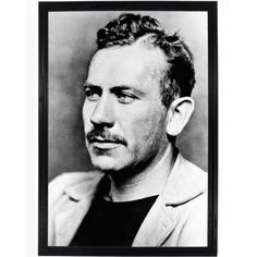 John Ernst Steinbeck, Jr. (February 27, 1902 – December 20, 1968) was an American writer. He is widely known for the Pulitzer Prize-winning novel The Grapes of Wrath (1939) and East of Eden (1952) and the novella Of Mice and Men (1937). As the author of twenty-seven books, including sixteen novels, six non-fiction books, and five collections of short stories, Steinbeck received the Nobel Prize for Literature in 1962. John Steinbeck Poster – Falstaff Trading Writing Quotes, Writing Advice, Reading Quotes, Start Writing, Writing Help, Writing Prompts, Grapes Of Wrath, East Of Eden, Writers And Poets