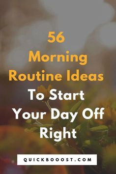 Use these morning routine ideas to start your day off on the right foot. Utilize them to be more productive, enhance your time management, and achieve your goals! Time Management Activities, Time Management Printable, Time Management Quotes, Management Books, Time Management Skills, Productive Things To Do, Things To Do At Home, Things To Do When Bored, Productive Day