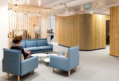 Workspace Decor with Elegant Pinewood Construction