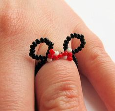little Minnie Mouse ears ring for Disney Cruise