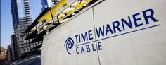 A Time Warner Cable truck in New York City. (Mark Lennihan/AP)