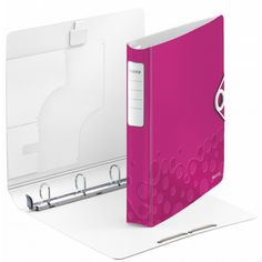 Leitz WOW Active SoftClick Ringbuch A4 4DR 30 mm pink 5 Stück LE3224 42400023