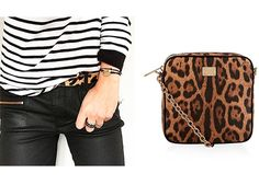 Try wearing your Breton striped top with leopard print accessories. Redonline.co.uk