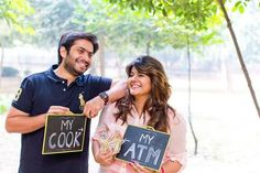 10 Funny Pre-Wedding Shots Every Couple Must Try Dresses 👗 Pre Wedding Shoot Ideas, Pre Wedding Poses, Wedding Photo Props, Pre Wedding Photoshoot, Wedding Pics, Dress Wedding, Post Wedding, Photoshoot Ideas, Trendy Wedding