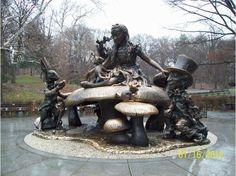 Alice in Wonderland Statue, Central Park  #WGTA #spsf