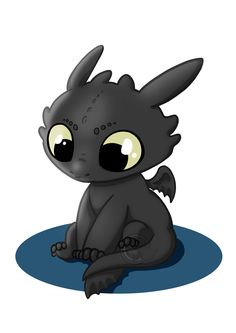 Cute Krokmou / Toothless