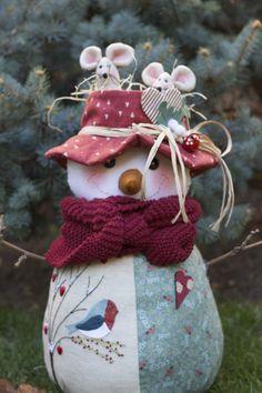 Cosiendo sueños - Snowman