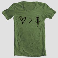 Love  Money Tshirt  Printed on American by BathroomArtFashions, $25.00