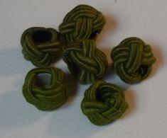 Knoten dunkles grün für rustikale Lampenschirmaufhängung Band, Knots, Sash, Bands, Orchestra