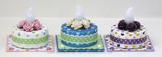 idea for tea light cake