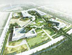 Complejo Gubernamental-Vision o utopía? | H Associates, Haeahn Arquitectura y EDAW - Arch2O.com