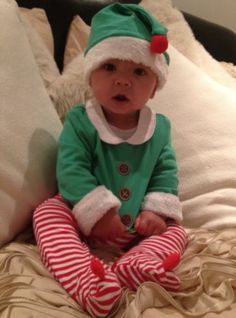 Christmas Elf Outfit Months From John Lewis in Baby, Clothes, Shoes & Accessories, Boys' Clothing Months), Outfits & Sets Elf Outfit, Elf Clothes, Happy Baby, Christmas Baby, John Lewis, 12 Months, Baby Kids, Dress Up, Nursery