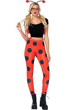 Adult Love Bug Ladybug Costume                                                                                                                                                                                 More