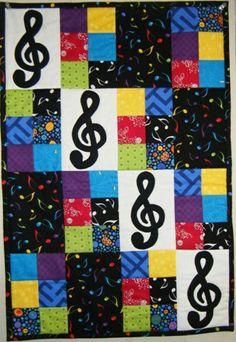 Music Quilt Kit