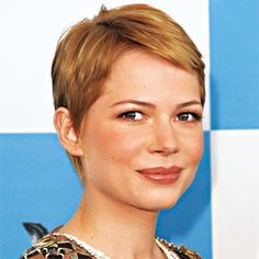 "It's liberating to cut off all your hair, says stylist Chris McMillan, who gave Michelle Williams this cropped cut. But what happens when you're ready for another reinvention? A pixie naturally grows into a shag. If you prefer something more polished, McMillan suggests a trim every 10 weeks. ""Cut the back and the bangs, shaping hair into a bob as the sides catch up in length,"""