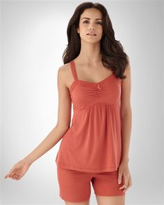 Embraceable Cool Nights Baked Apple Camisole by Soma Intimates in Fall 2012 from Soma Intimates