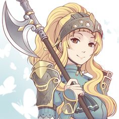 Clair from Fire Emblem Echoes