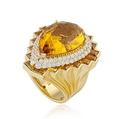 Couture rings from Atelier Versace Jewelry