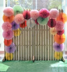 Photobooth Backdrop Diy Wedding Pom Poms - Fresh Photobooth Backdrop Diy Wedding Pom Poms, This is Nice but In More Subtle Colours and Ruched Cream Fabric Diy Photo Backdrop, Backdrop Design, Photo Backdrops, Cheap Backdrop, Paper Backdrop, Backdrop Ideas, Flower Backdrop, Photography Backdrops, Photo Props
