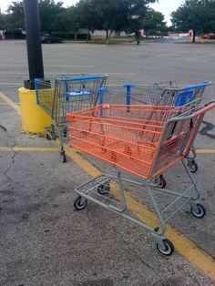 more random acts of kindness... 41st Birthday, Shopping Carts, Random Acts, Parking Lot, Acting, Market Baskets