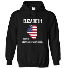 #Sportstshirt... Nice T-shirts  Worth :$39.ninety ninePurchase Now  Low cost Codes View photographs & photographs of ELIZABETH-- Its Where My Story Begins! t-shirts & hoodies:Should you do not completely love our design, you possibly can SEARCH your favouri....