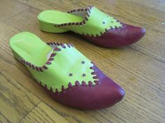Handmade Moroccan Slippers Shoes Babouche 6  Purple by girlgal6