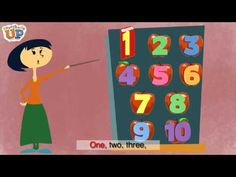 How Many? is a simple and catchy counting song. From the Everybody Up textbook series, this song was written by Devon and Troy of Super Simple Learning. Counting Songs, Math Songs, Preschool Songs, Fun Songs, Kids Songs, Math Games, Math Activities, Math Classroom, Kindergarten Math