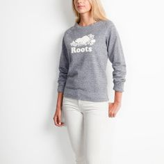 Roots Salt & Pepper World Famous Crew Roots Clothing, Matching Outfits, Latest Fashion Trends, Hoodies, Women's Sweatshirts, Graphic Sweatshirt, Sweatpants, Style Inspiration, Pullover