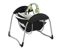 Graco's Glider Lite is a unique, portable gliding swing that soothes with the same gentle motion you use when cuddling and comforting baby in your nursery glider.  This innovative gliding swing is lightweight, making it easy to use anywhere in the house.  A plush, roomy seat with removable infant head support will keep baby cozy, while six gliding speeds, ten classical melodies and five nature sounds will keep baby entertained.  With the Graco Glider Petite, you will have all the features...