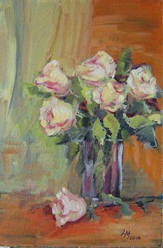 Művészkedéseim: Rózsacsokor