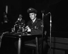 March 5,   1960: ELVIS PRESLEY IS DISCHARGED FROM ACTIVE DUTY IN THE U.S. ARMY  -    Elvis Presley is discharged from active duty in the U.S. army, 19 days short of his two-year commitment.