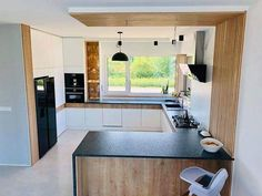 Küchen Design, House Design, Interior Design, House Construction Plan, Kitchen Pantry Design, Minimalist Kitchen, Beautiful Kitchens, Kitchen Furniture, Sweet Home