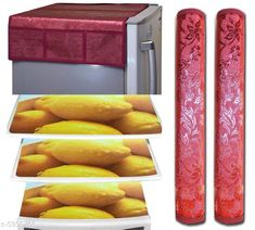 Fridge Covers Trendy Fridge Mats  Material: PVC Pack: Pack of 1 Product Length: 60 cm Product Height: 90 cm Country of Origin: India Sizes Available: Free Size   Catalog Rating: ★3.9 (453)  Catalog Name: Free Mask Classy Fridge Covers CatalogID_907475 C131-SC1623 Code: 191-5990766-273