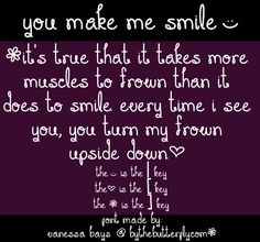 You Make Me Smile font by ByTheButterfly - FontSpace