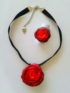 bague et collier roses p 226 te polym 232 re fimo polymer clay p 233 ch 233 gourmand