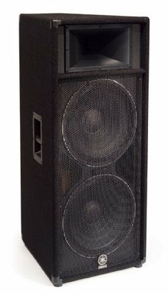 Yamaha - speaker - for PA system, Silver Subwoofer Box Design, Speaker Box Design, Pro Audio Speakers, Monitor Speakers, Yamaha Speakers, Judo Club, Speaker Plans, Sound Stage, Car Amplifier