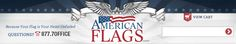 AmericanFlags.com - American Flags, Historic Flags, Military Flags, State Flags, World Flags, Flagpoles and more!