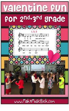Make Music Rock!: Valentine Fun - song/movement activity with changing partners & mi-re-do