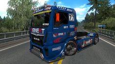 ETS2 - Man Etrc V1 (1.34.x) Download Audi Tt Sport, Romania Map, Luxury Bus, Volvo S60, Country Maps, City Car, Simulation Games, Ford Focus, Trucks