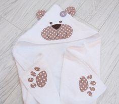 accappatoio spugna per neonato