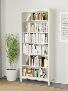 Ikea Hemnes bookcase, white  Article Number : 002.456.39
