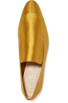 Joseph - Satin Loafers - Marigold - IT37.5