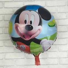 XXPWJ aluminum balloons 5pcs-lots of children's toys Mickey birthday party balloons decorated and furnished Wholesale K-003