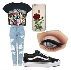 """""""Day out #2"""" by tommy-coma on Polyvore featuring Topshop and Vans"""