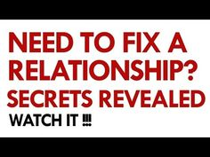 How to fix a relationship problems? Relationship Advice & Marriage Counseling - YouTube